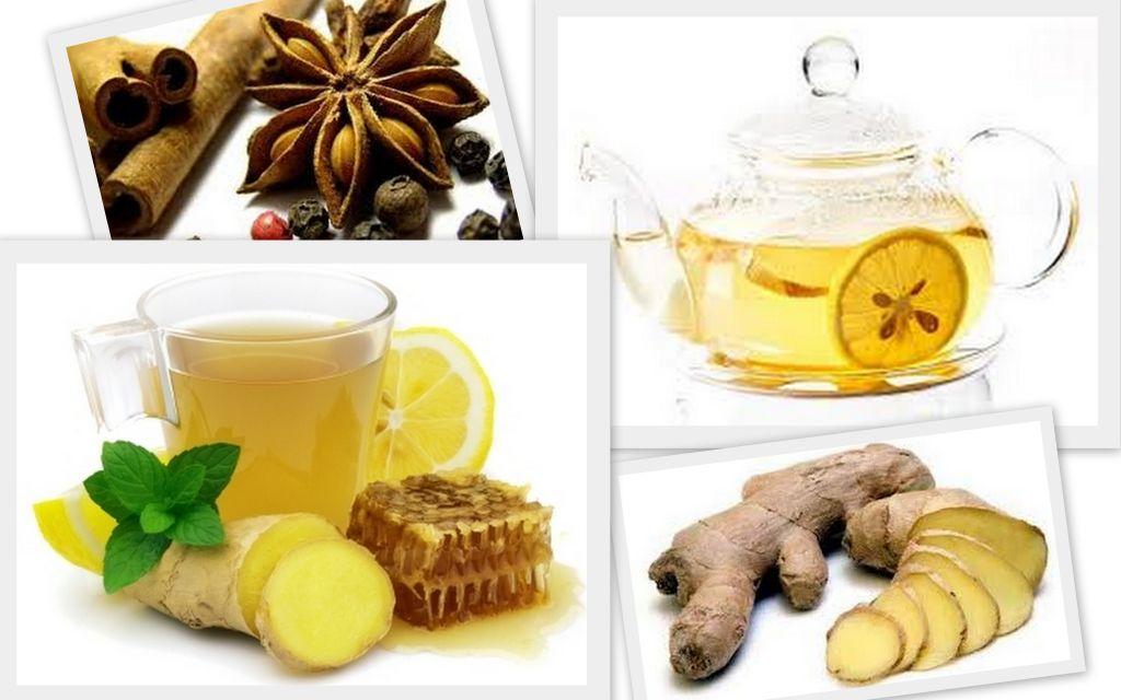 имбирный чай для похудения фото
