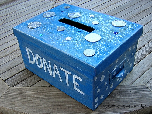"=""коробка для донейшна"""