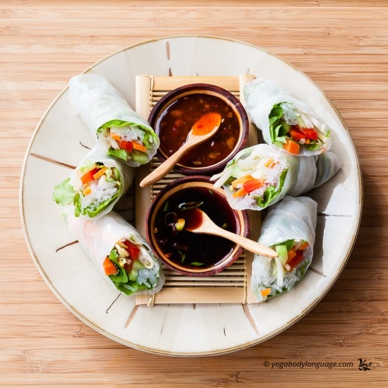 рецепты роллов и соусов