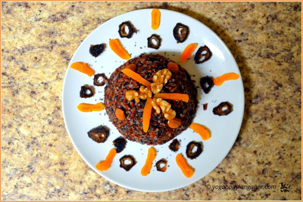 Сочиво (коливо или кутья) из риса для Великого Поста